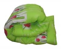 """Одеяло 1,5 спальное, (""""шерсть овечья"""", ткань верха полиэстер), с"""
