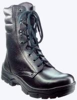 """Ботинки """"Охотник-Зима"""" хром, натуральный мех, система противоско"""