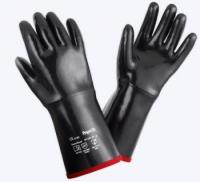 Артикул: под заказ  Химически стойкие неопреновые перчатки на хл