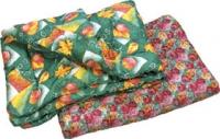 Одеяло 1,5 спальное (полиэфирное волокно, ткань верха полиэстер)