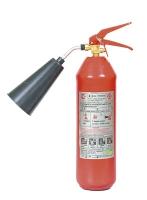 Огнетушитель ОУ- 1 объем 2 л, масса заряда 1 кг, общ. вес 5,5 кг