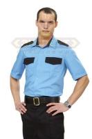 Рубашка мужская с коротким рукавом