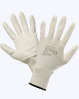 Перчатки нейлоновые с ПУ покрытием (антистатичные)