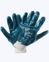 Перчатки нитрил. облив. с мягким манжетом (аналог HYCRON)