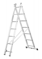 Лестница двойная алюминиевая