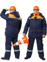 Костюм Балтимор т.синий/оранжевый