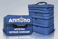 Аптечка  для оказания первой помощи сотрудниками ГИБДД МВД РФ.