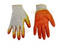 Перчатки трикотажные х/б с 2-м латексным покрытием (Россия)(цвет