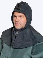Подшлемник спилковый утепленный с пелериной