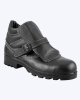 Ботинки сварщика кожаные, мягкий кант, подошва нитрил, МБС, МП