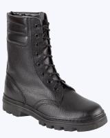 """Ботинки """"ОМОН"""" юфтевые, бортопрошивные, с высоким берцем"""