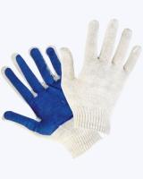 Перчатки х/б с ПВХ покрытием