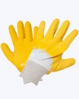 """Перчатки стекольщика """"Грейфер"""" х/б с рифлен. лат. покрытием"""