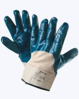 Перчатки нитрил. полуоблив. с твердым манжетом (аналог HYCRON)