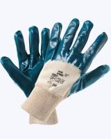 Перчатки нитрил. полуоблив. с мягким манжетом(аналог HYCRON)