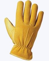 """Перчатки """"Диерфит"""" кожаные утепленные"""
