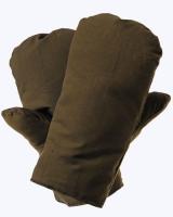 Рукавицы утепленные (диагональ, натуральный мех)
