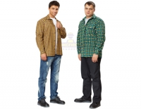 Рубашка с длинным рукавом (фланель).