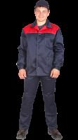 "Костюм ""Стандарт"" куртка + брюки, син+красн."
